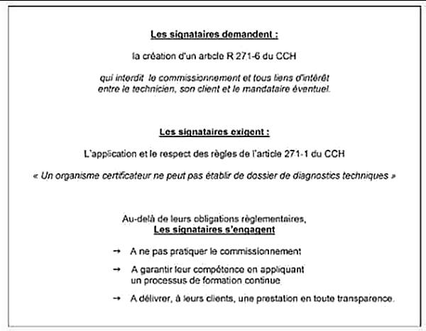 Pacte du diagnostic immobilier